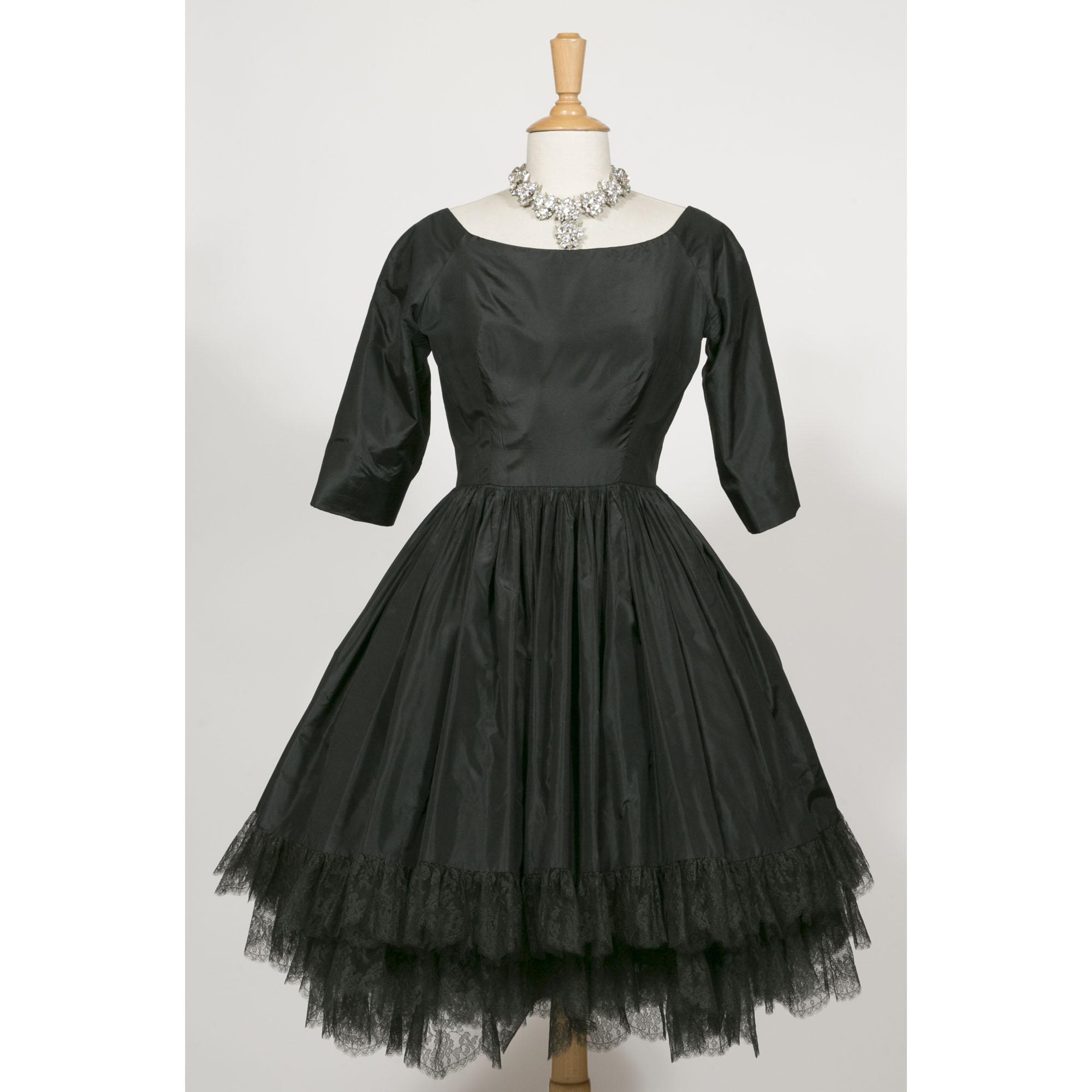 christian dior haute couture robe folies amoureuses vintage fashion paris. Black Bedroom Furniture Sets. Home Design Ideas