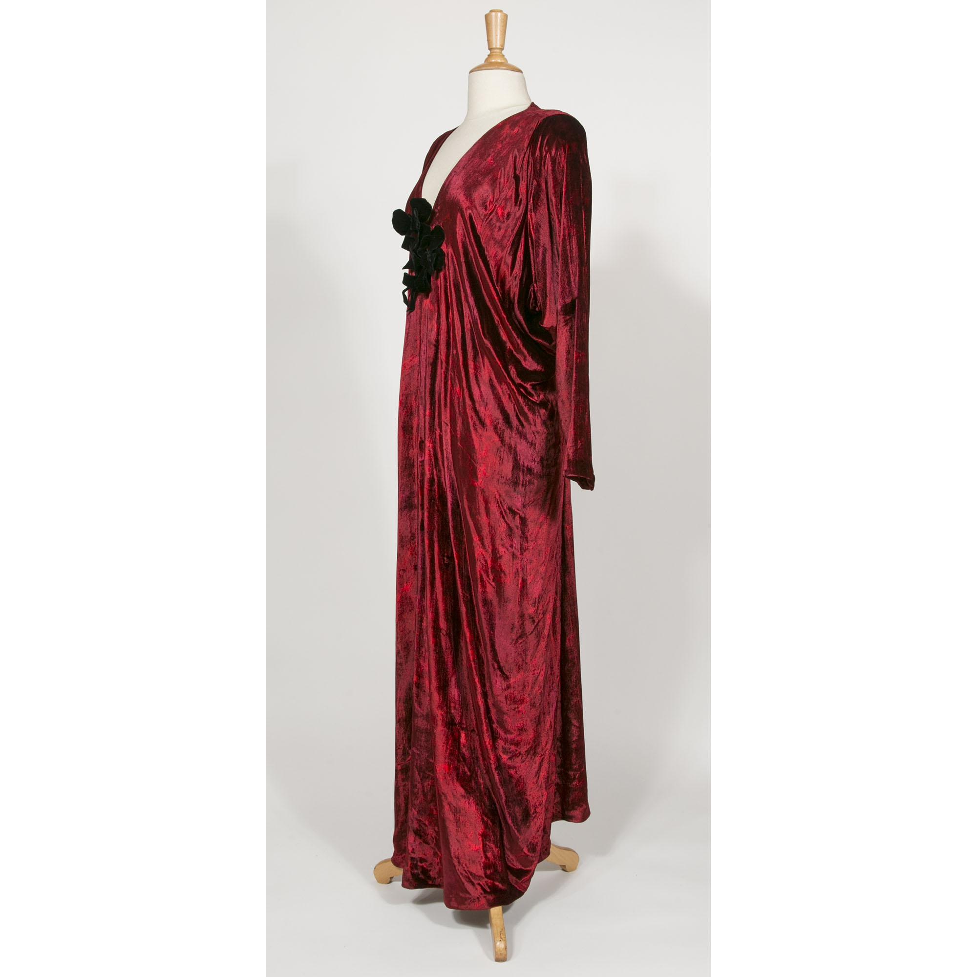 Robe rouge ysl